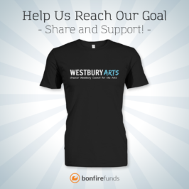 Get Your Own Westbury Arts T-Shirt and Support the Council!