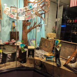 Westbury Arts Transforms Post Avenue Bootery Storefront into a Work of Art