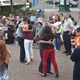 Recap: Westbury Arts Hosts Tango Night With Free Outdoor Dance Lessons and Concert