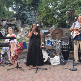 Recap: Westbury Arts Hosts Jazz and Blues Night With T-Shirt Painting and Free Outdoor Concert