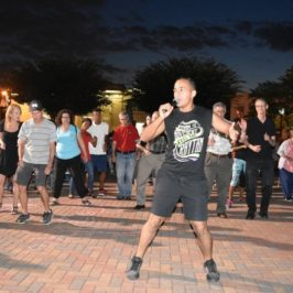 Recap: Westbury Arts Hosts Salsa Night With Free Outdoor Dance Lessons and Concert