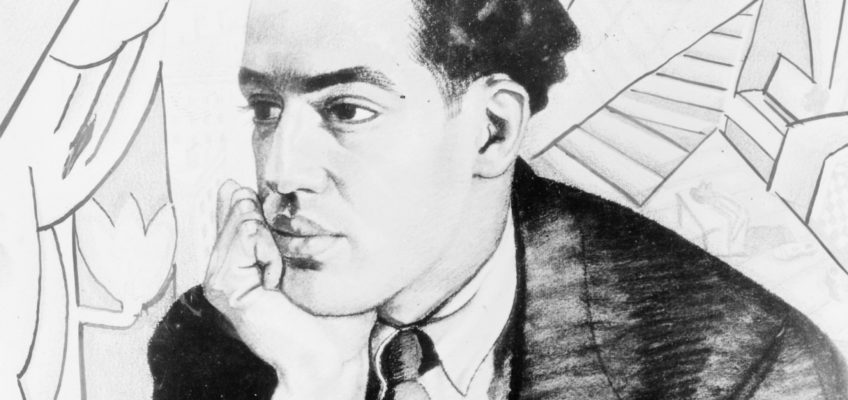 Langston Hughes by Winold Reiss