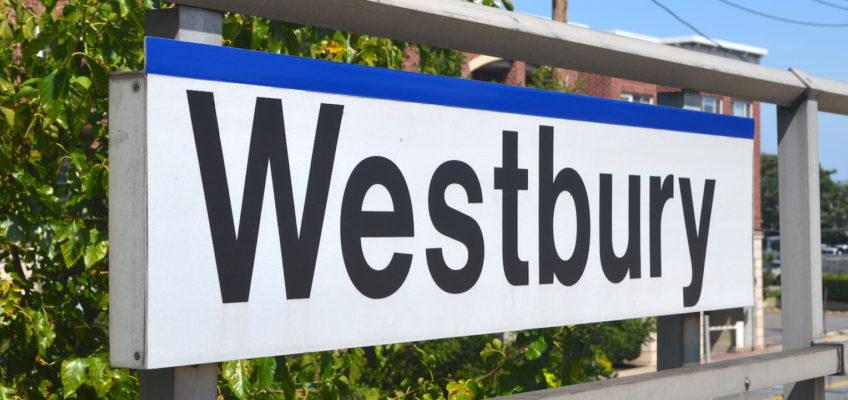 Westbury Train Sign