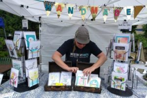 Maureen Baranov at the Farmers & Artists Market