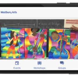 Introducing the Westbury Arts mobile app!