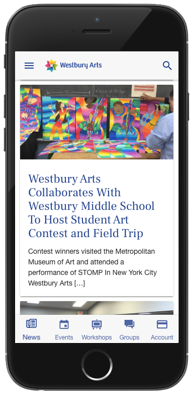 Westbury Arts mobile pp