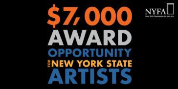 2019 NYSCA/NYFA Artist Fellowship promo